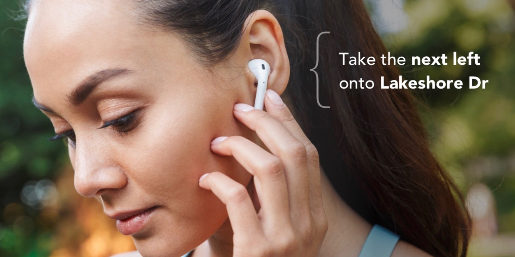 Footpath custom navigation app for runners and cyclists launches audio guidance with AirPods double-tap support