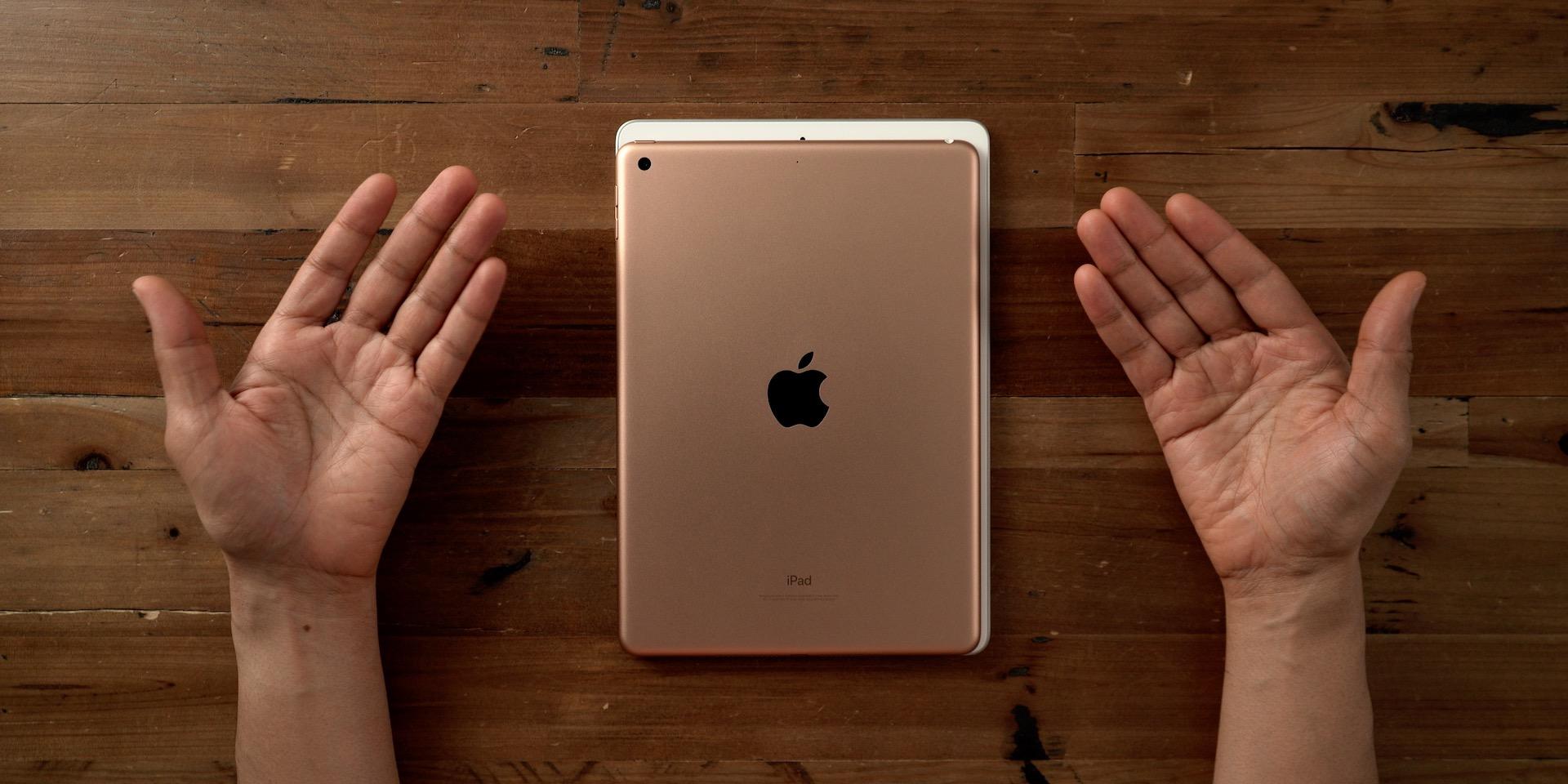 iPad rear