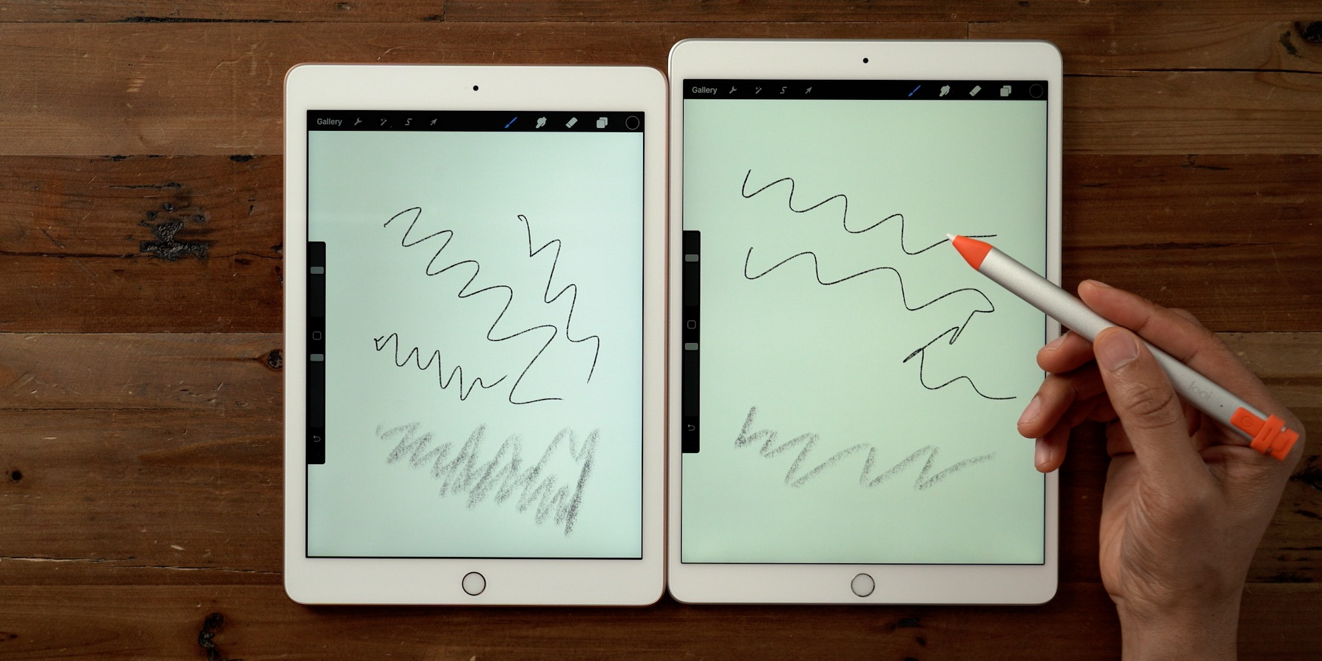 iPad Air 3 review drawing support