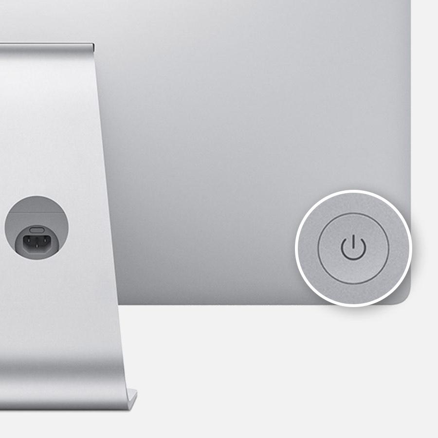 power button iMac