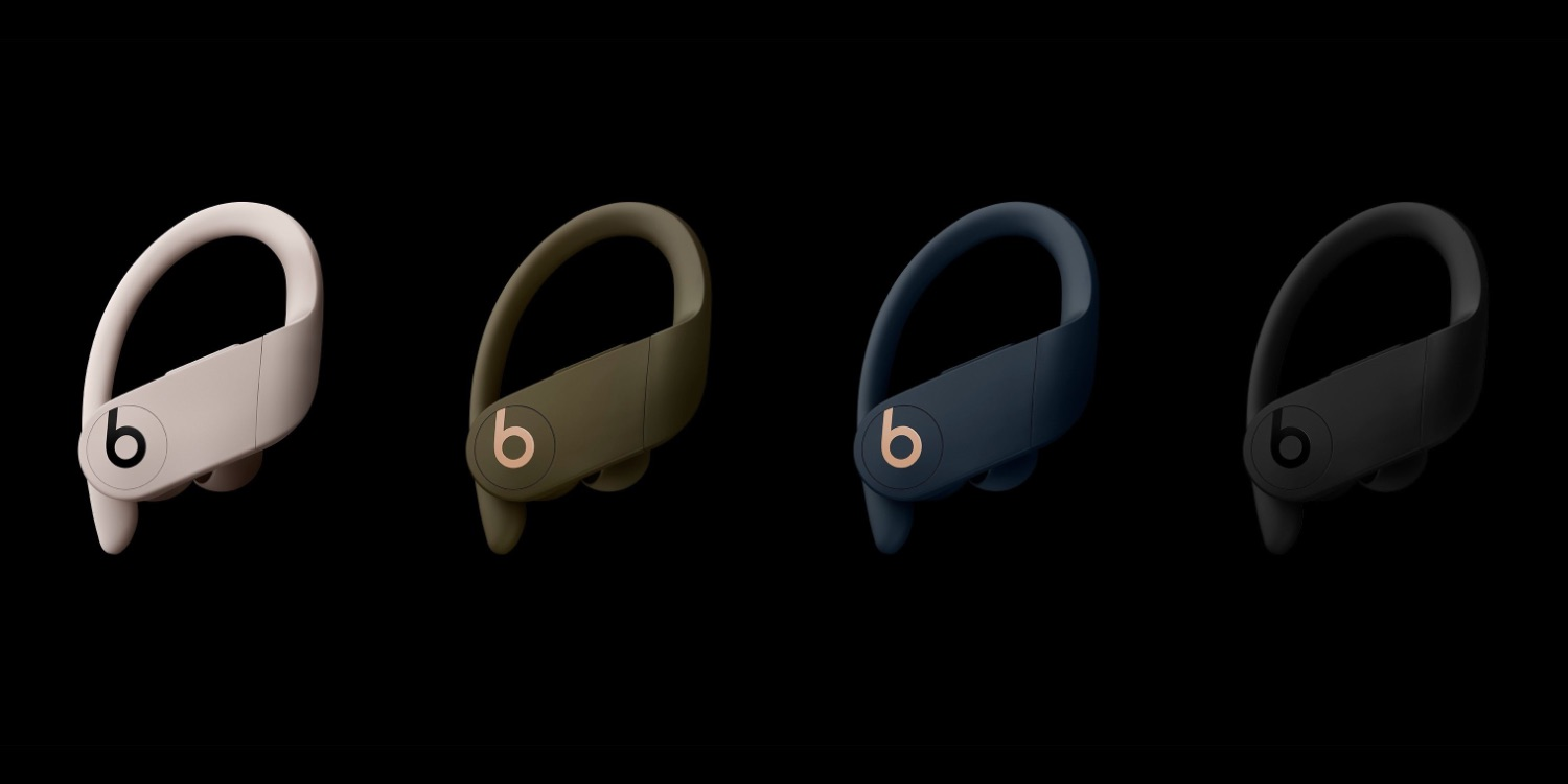 You can now order Powerbeats Pro in moss, ivory and navy colors