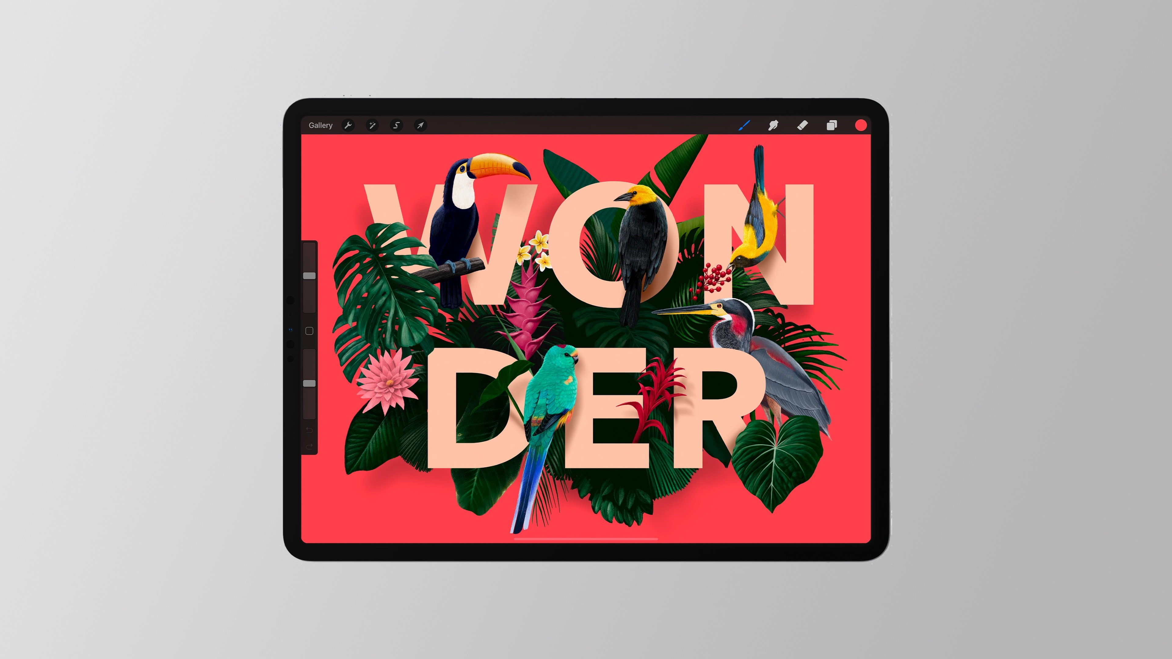 Procreate illustration app for iPad adds long-awaited Text features