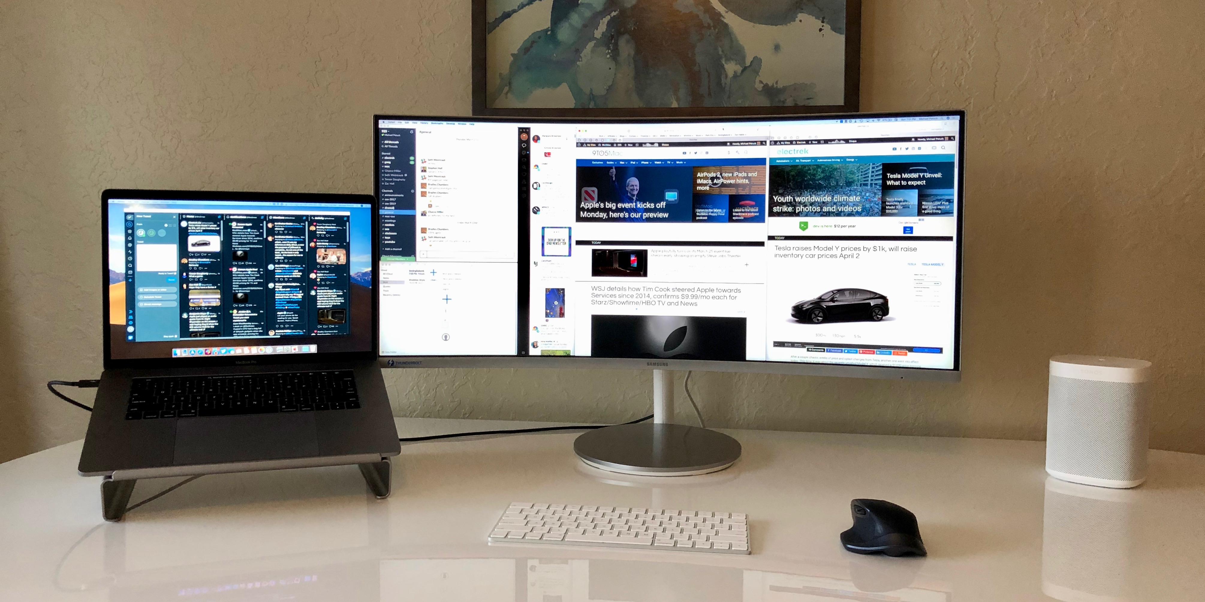 Thunderbolt 3 ultra wide monitor