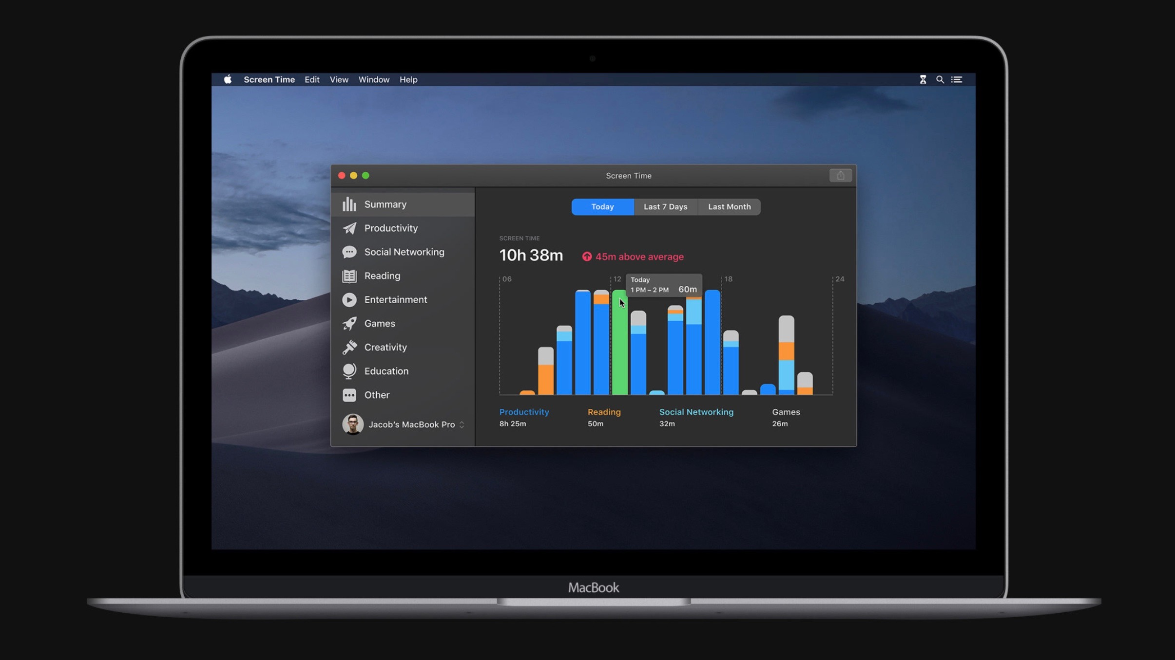 macOS 10.15 concept envisions rumored Screen Time feature with ambitious design [Gallery]