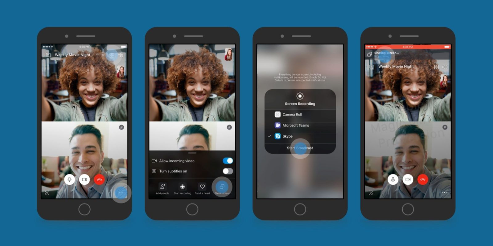 Skype for iOS Beta Adds Ability to Share your iPhone and iPad Screen with Others