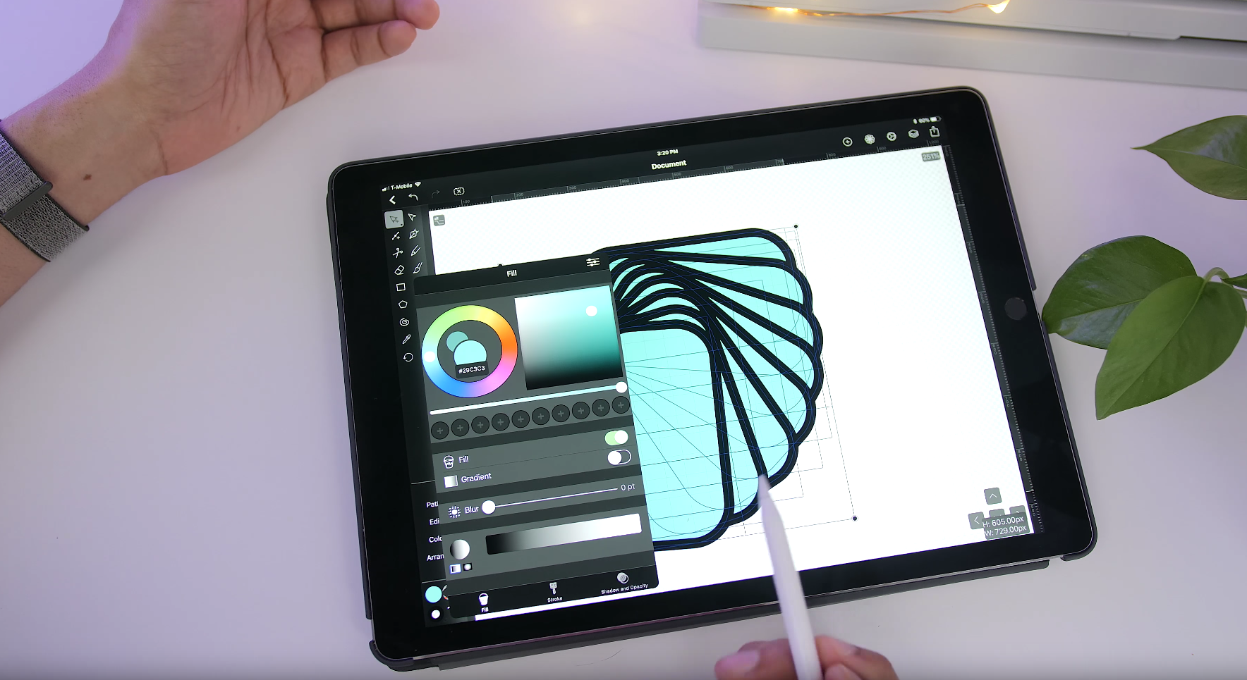 Vectornator Pro The Powerful Vector Graphic Design Software For Ipad Iphone Is Now Free 9to5mac