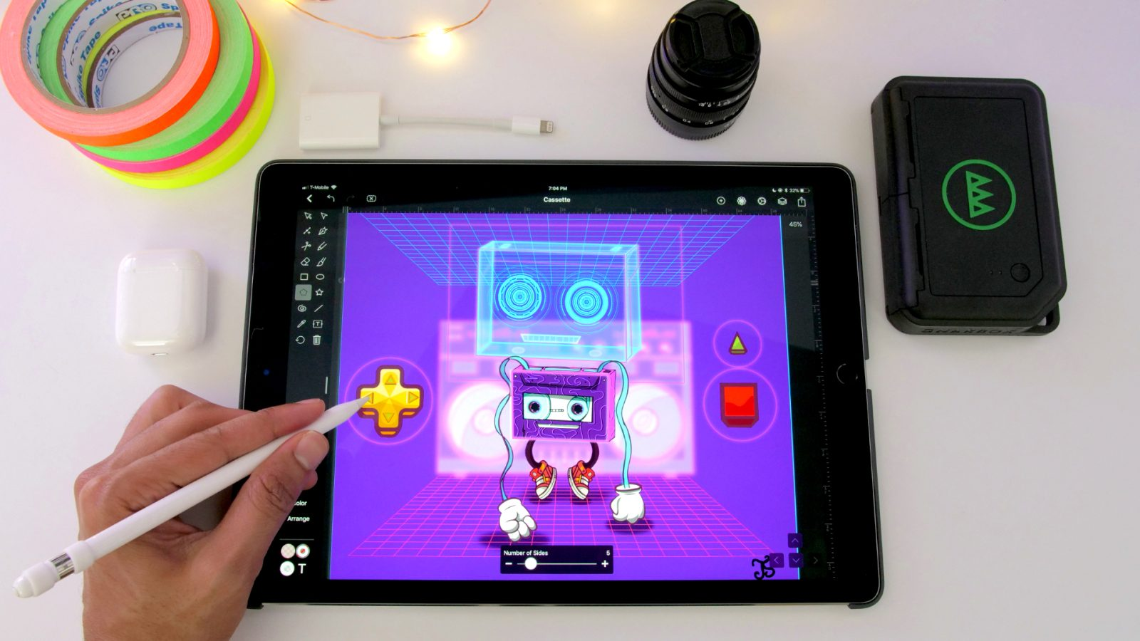 Vectornator Pro, the powerful vector graphic design software for iPad &  iPhone is now free