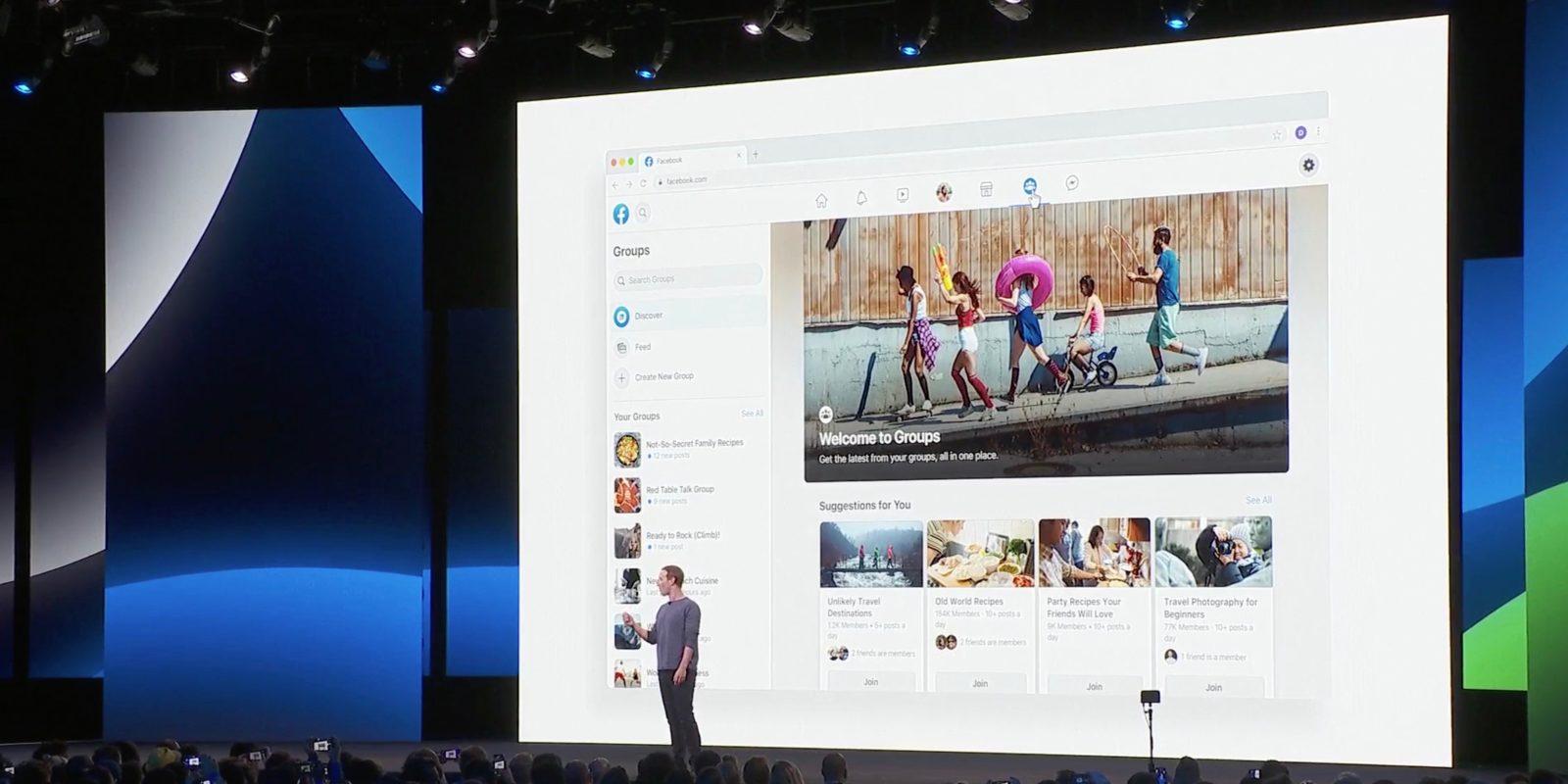 Facebook shows off next major design including new logo - 9to5Mac