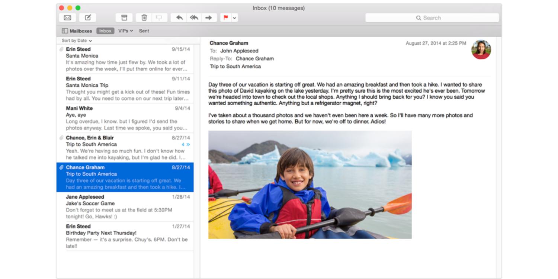 Apple Mail vs G Suite