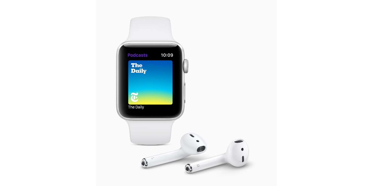 What's the best way to listen to podcasts on Apple Watch?
