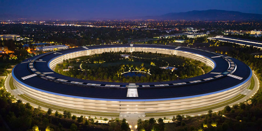 Apple Park valued at over $4 billion, making it one of the world's most expensive buildings