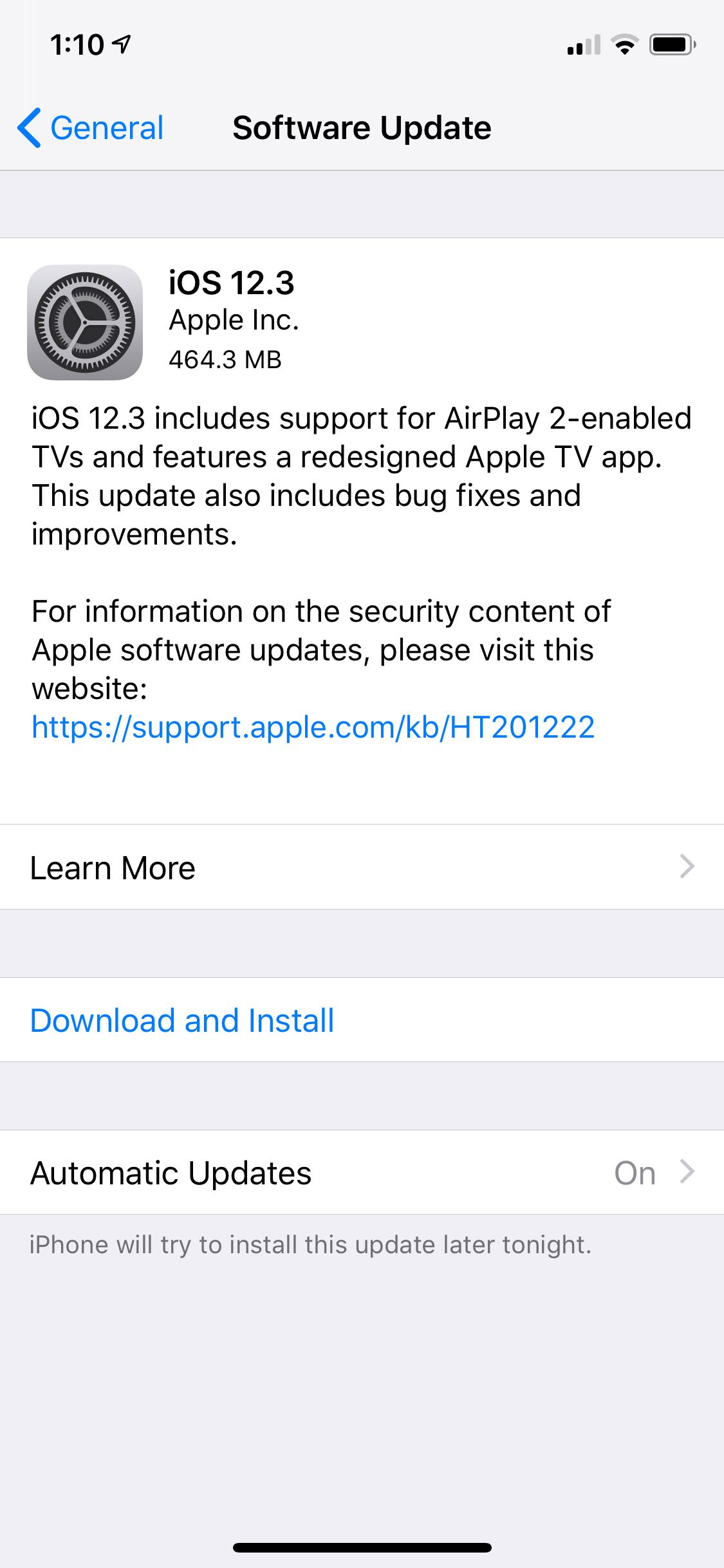 iOS 12 3 and tvOS 12 3 now available with new TV app features - 9to5Mac