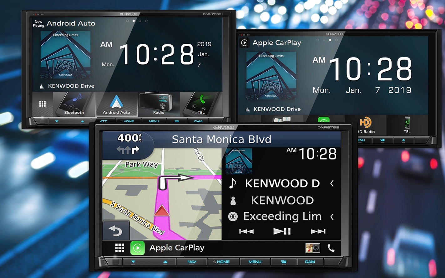 photo of Kenwood announces 7 new CarPlay receivers starting at $600, including new wireless options image