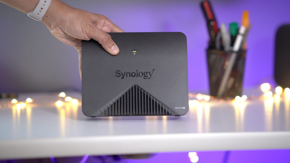 The Synology MR2200ac mesh router can improve your network