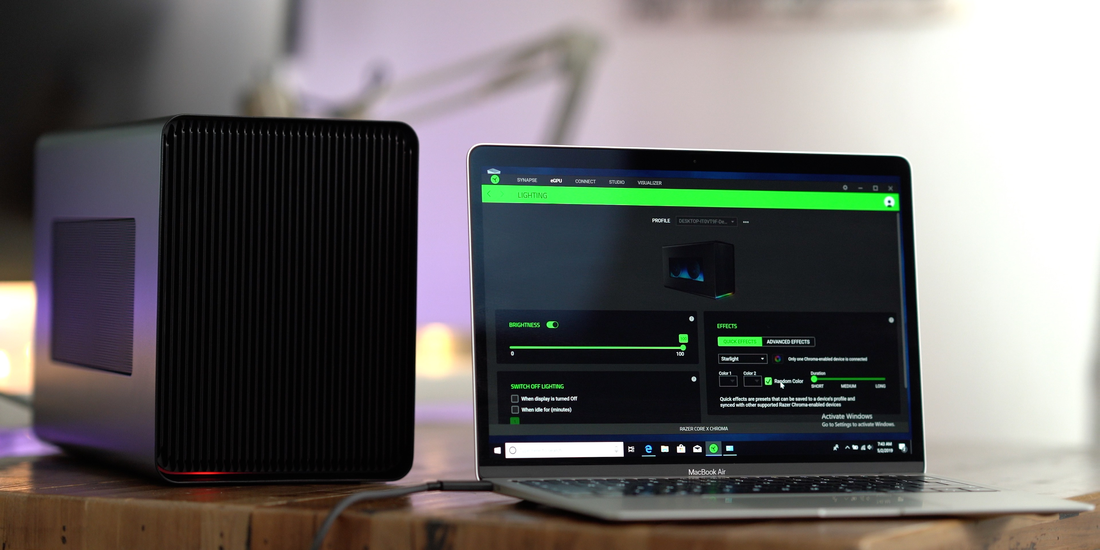 Razer Core X Chroma Review - still the best eGPU for Mac