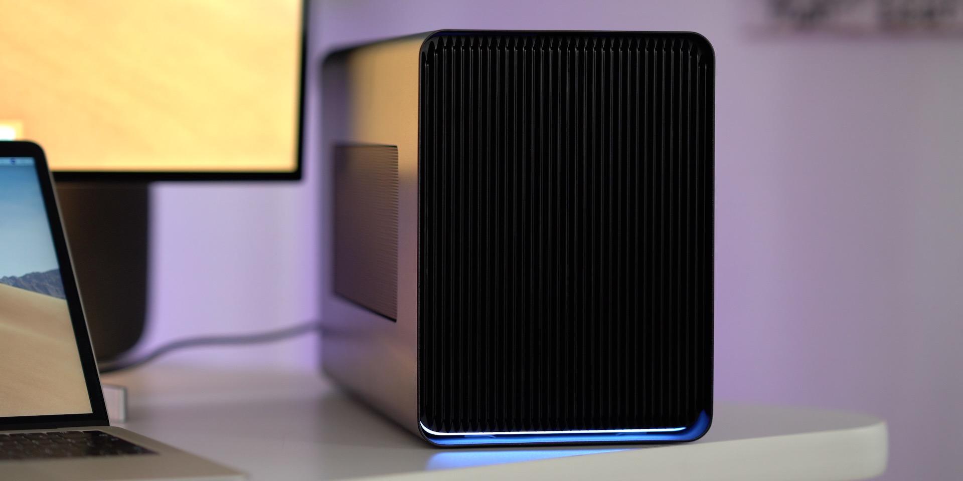 Razer Core X Chroma on Desk
