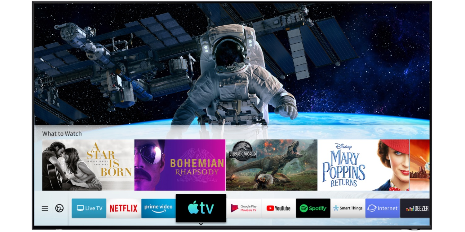 Apple TV app and AirPlay 2 debut on Samsung Smart TVs alongside iOS