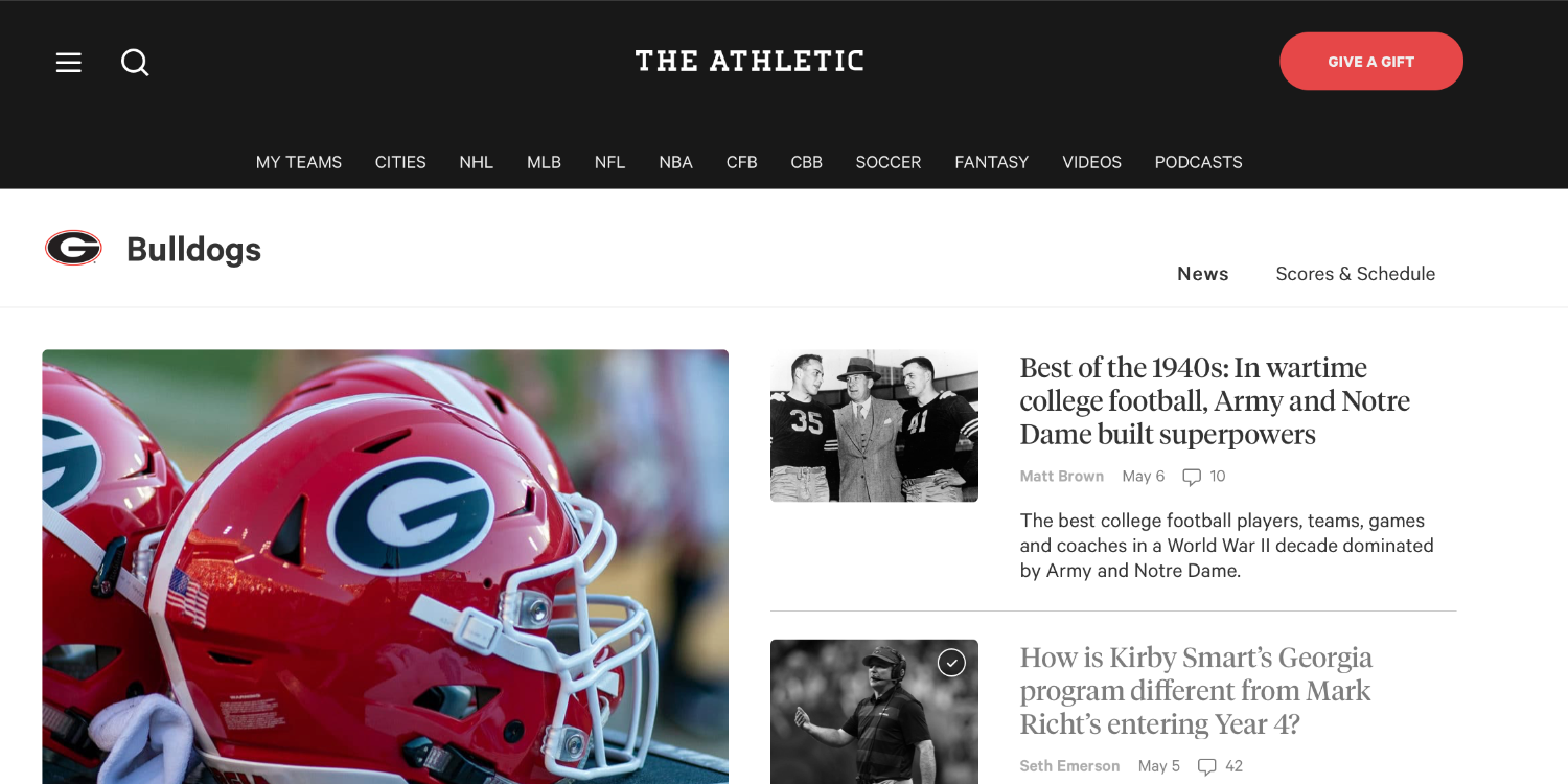 9to5mac.com - Bradley Chambers - Comment: Should The Athletic be an acquisition target for Apple?