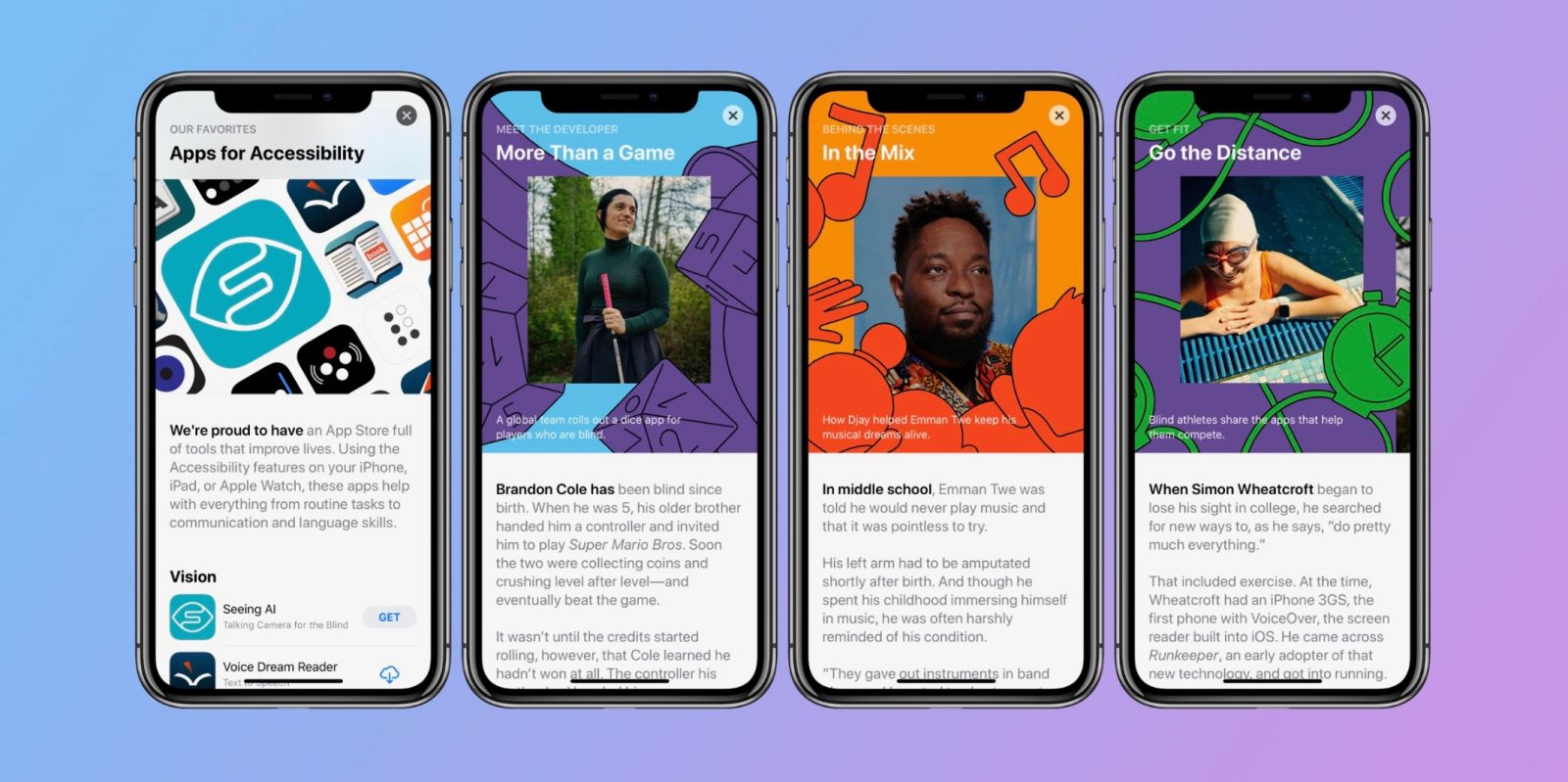 Apple celebrates Global Accessibility Awareness Day with top featured apps, user and developer profiles, more
