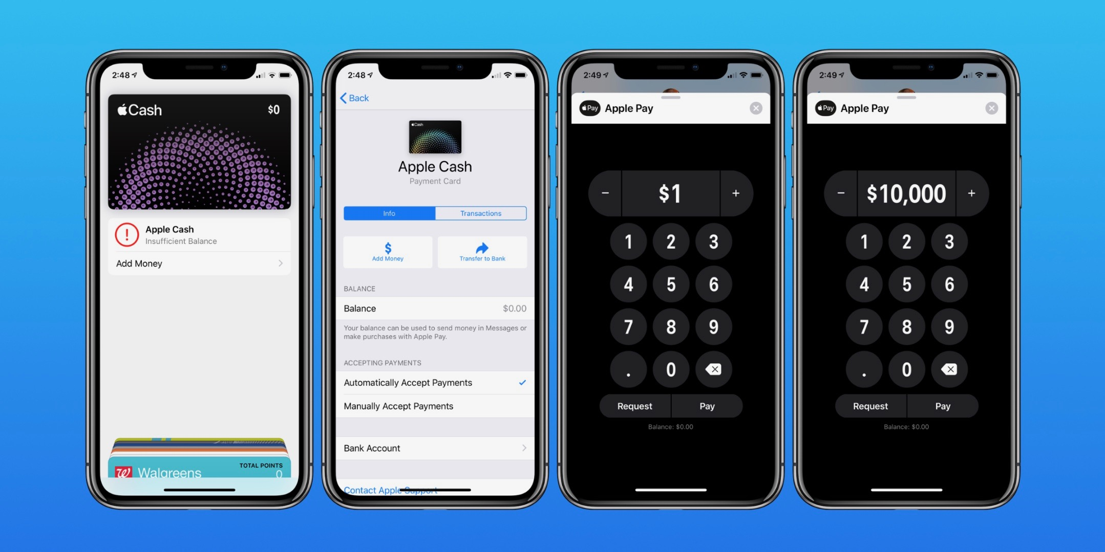 Apple Cash: How much can you send and receive?