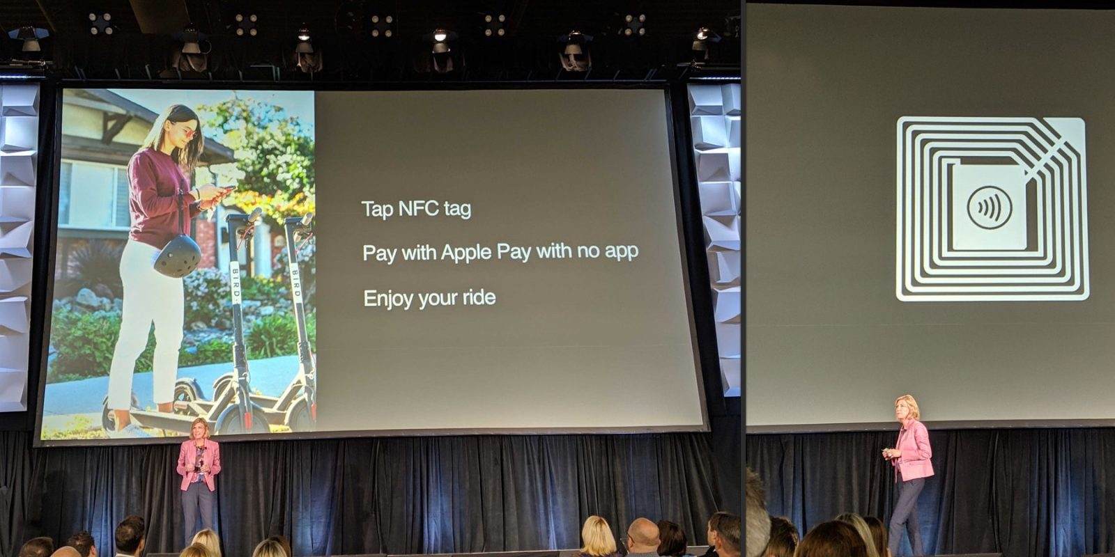 Apple Announces Support for Apple Pay NFC Stickers, Partners with Bird Scooters and More