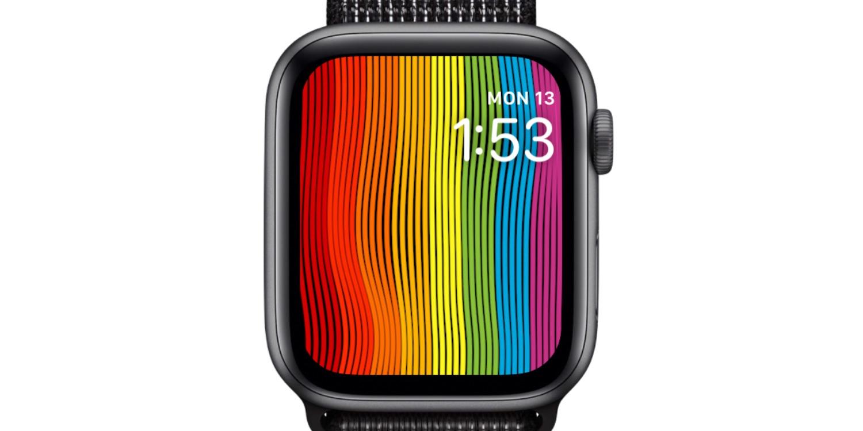 Apple Watch gains '2019' Pride face update in watchOS 5.2.1