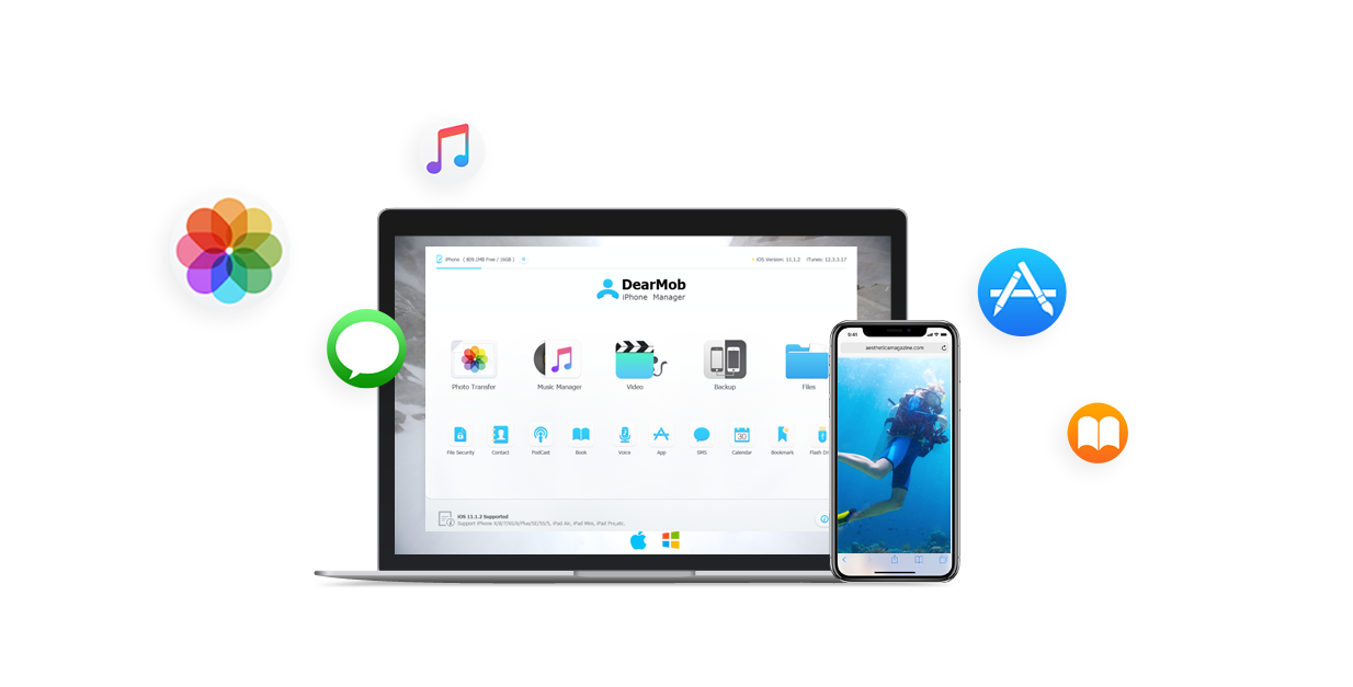 Get DearMob iPhone Manager, an advanced iTunes replacement