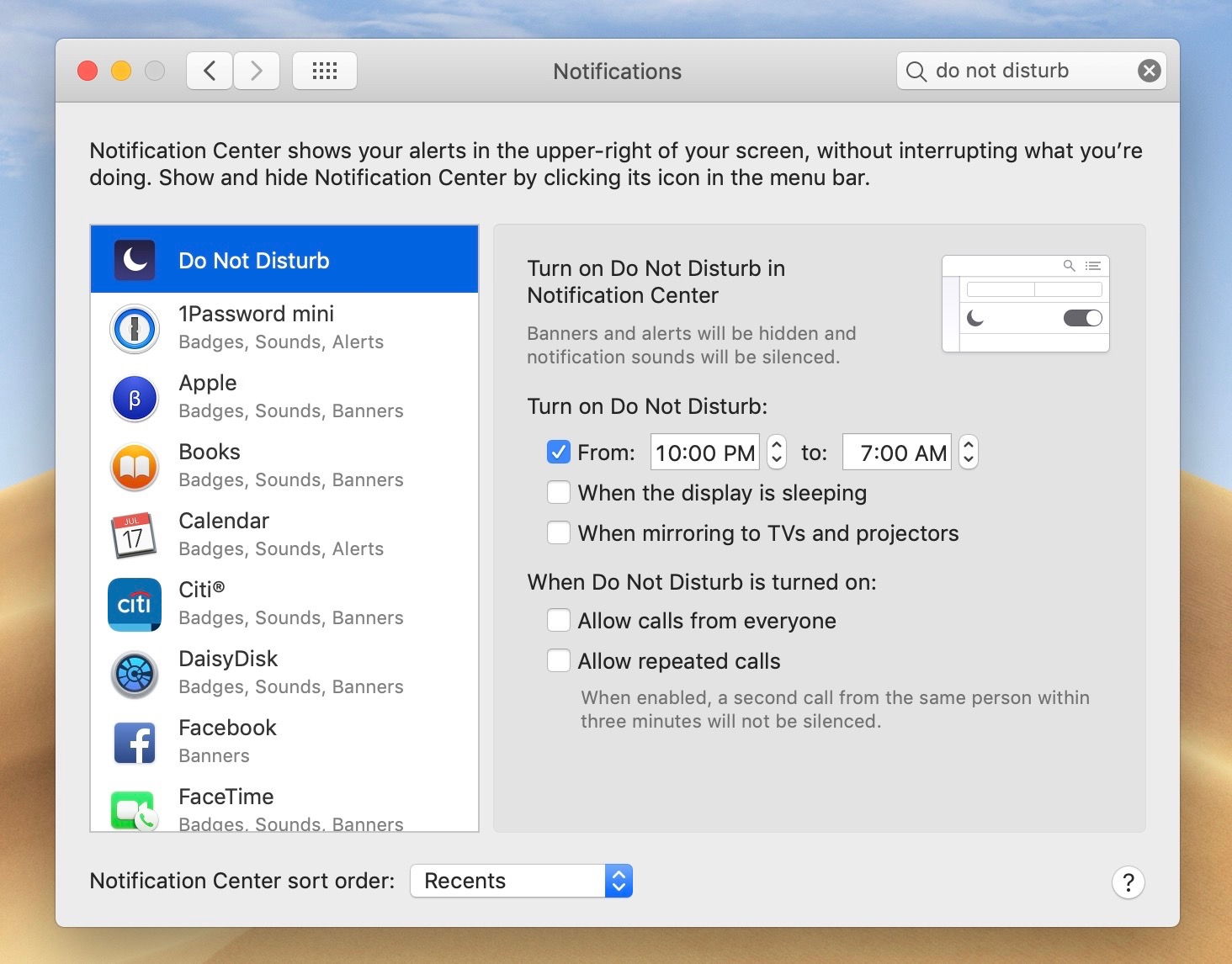 How to use Do Not Disturb on Mac with or without automation - 9to5Mac