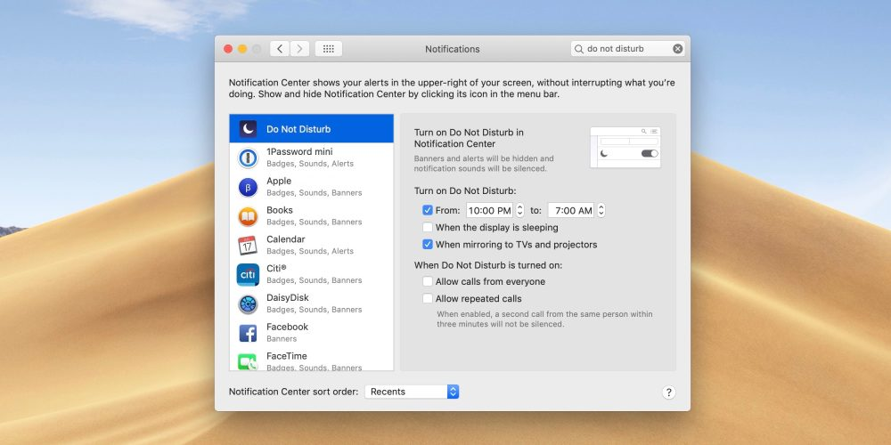 How to use Do Not Disturb on Mac with or without automation