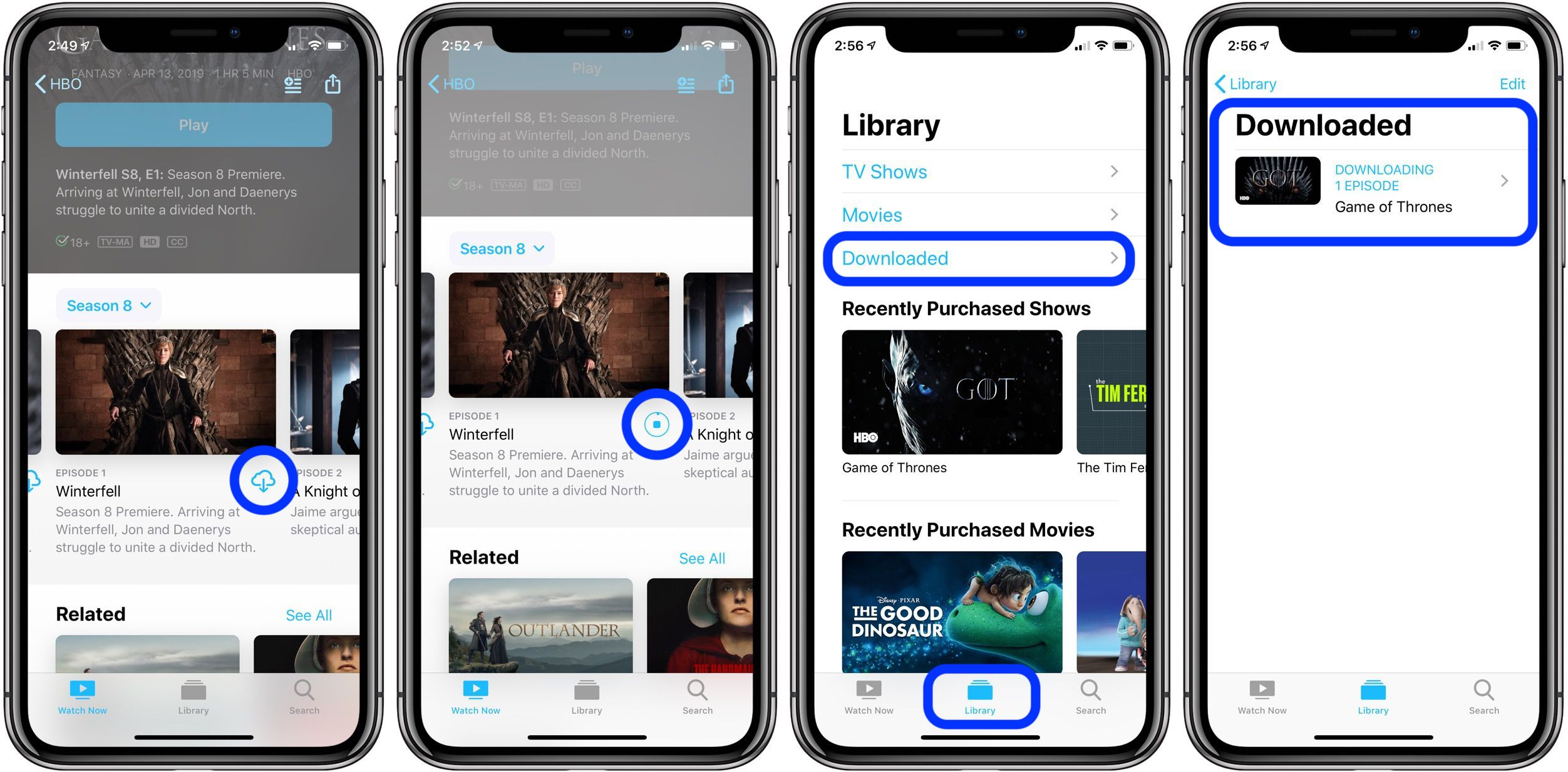 How to download HBO shows for offline use on iPhone and iPad
