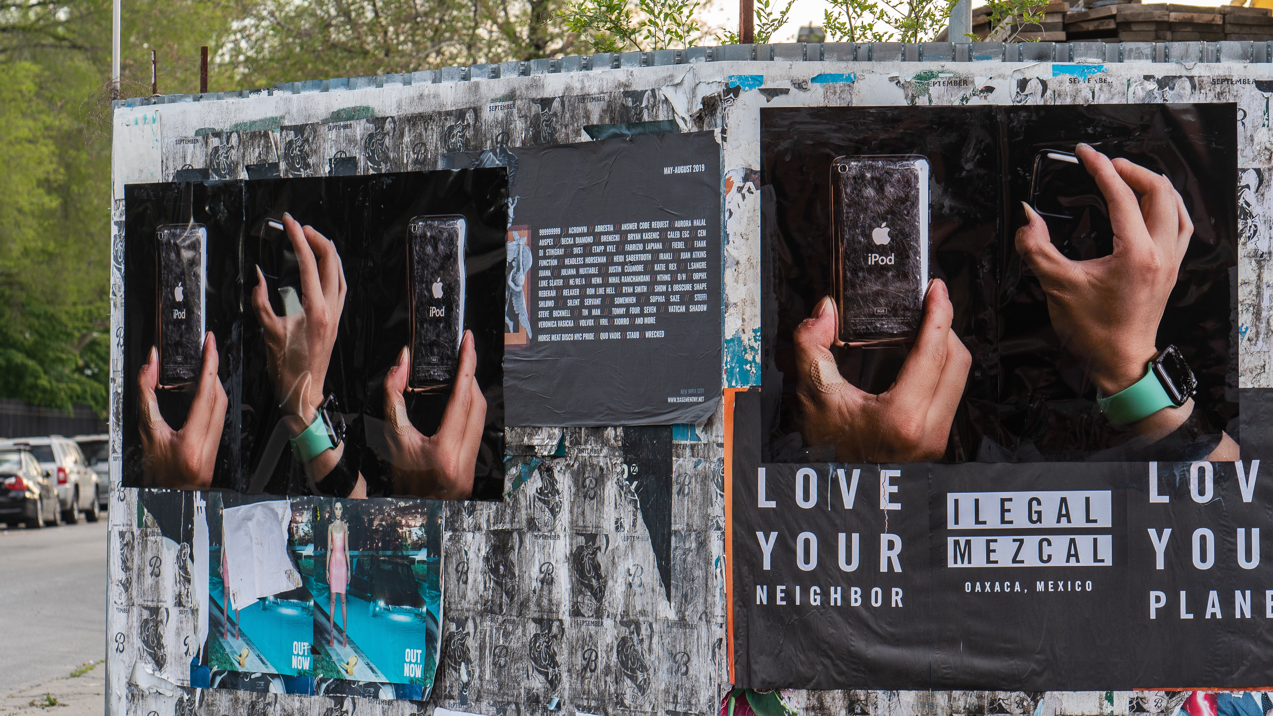 Photography project uses well-worn Apple products to highlight the human side of technology