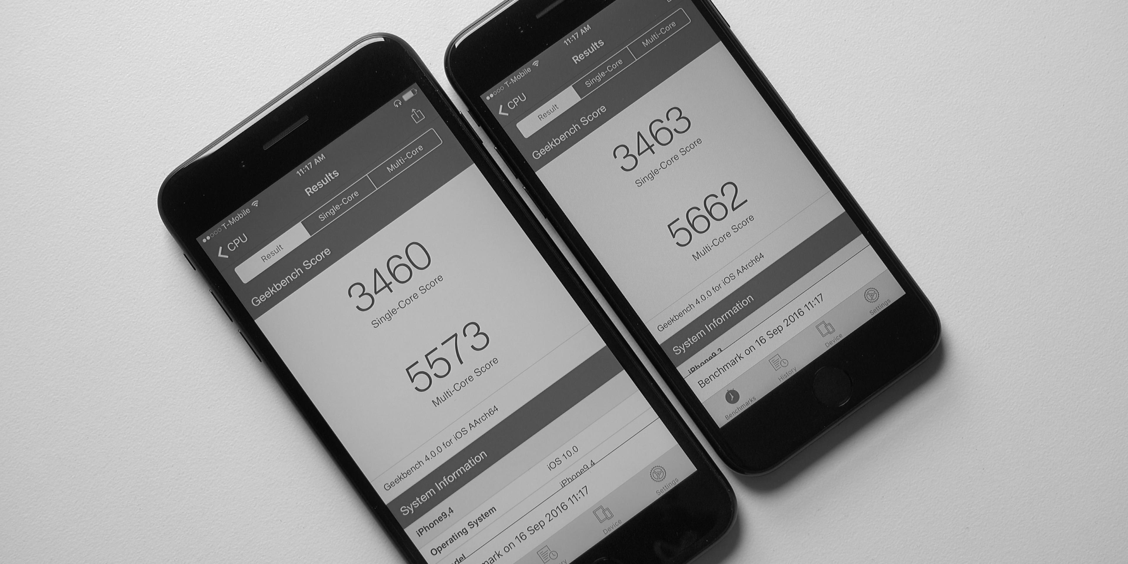 Geekbench iPhone 7