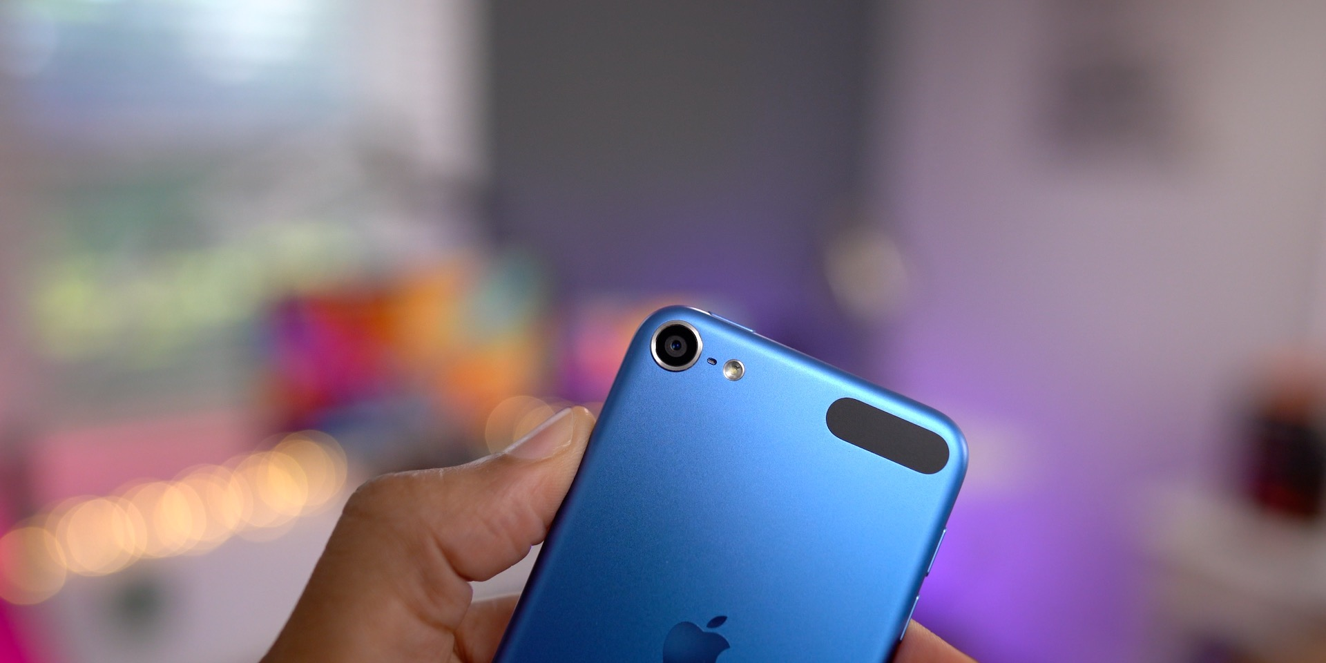 rear camera of iPod touch