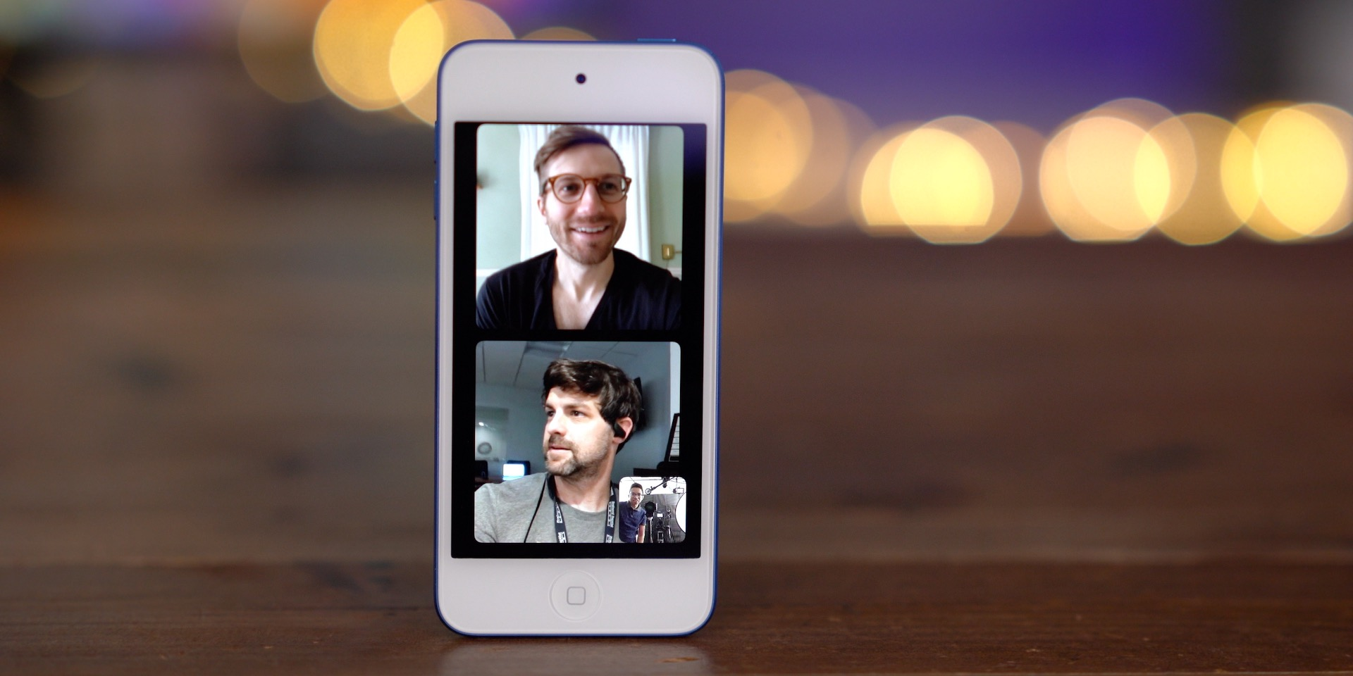 iPod touch 7 Group FaceTime