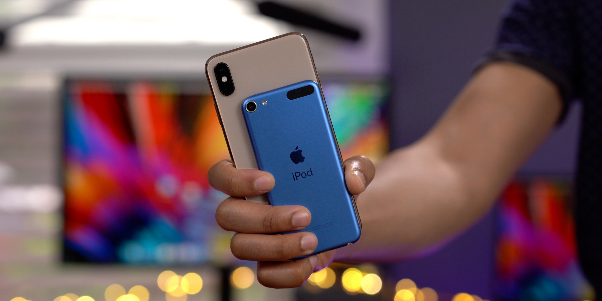 iPhone XS Max vs iPod touch