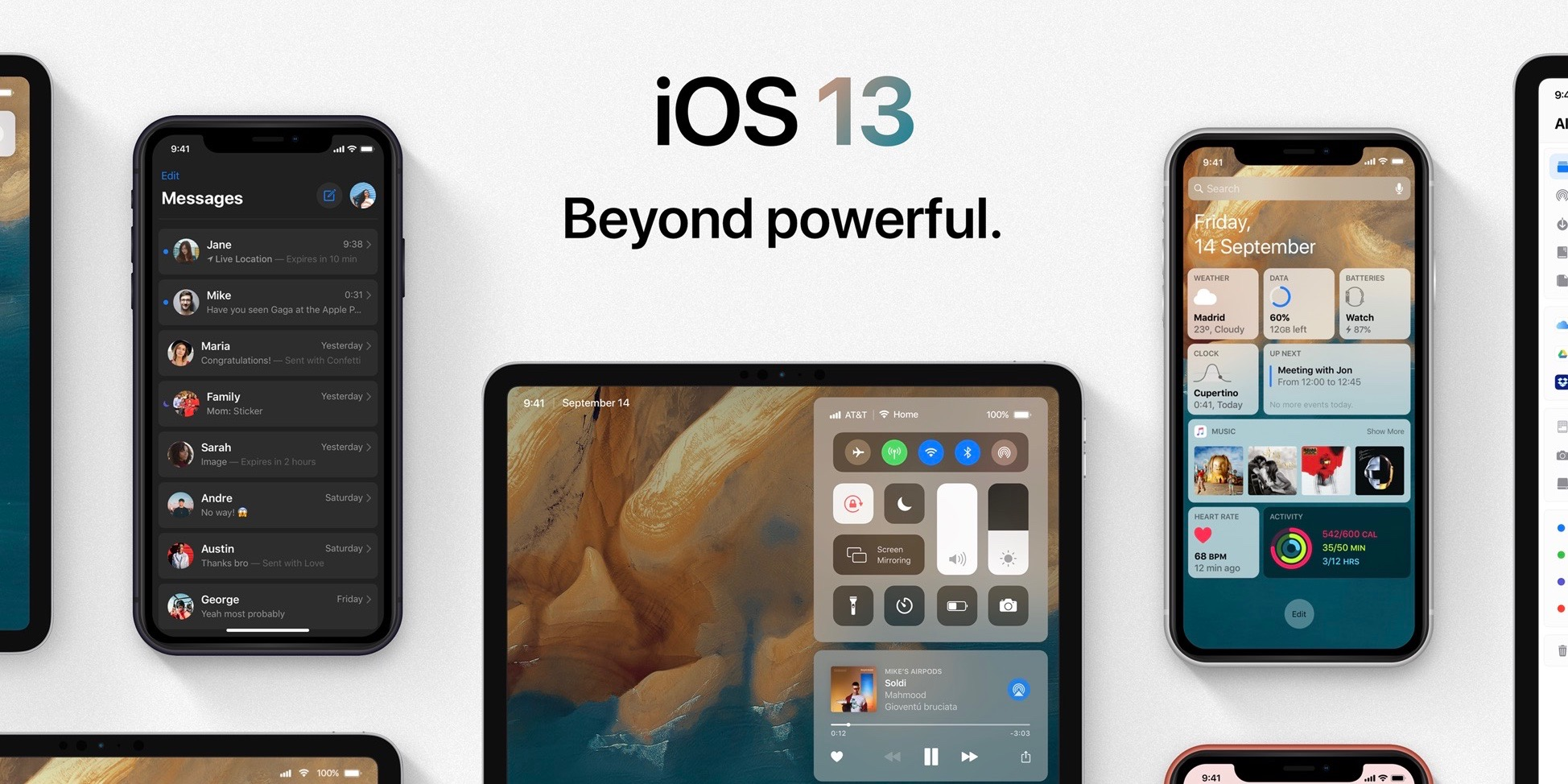 9to5mac.com - Michael Potuck - iOS 13 concept visualizes many of the features Apple expected to unveil at WWDC
