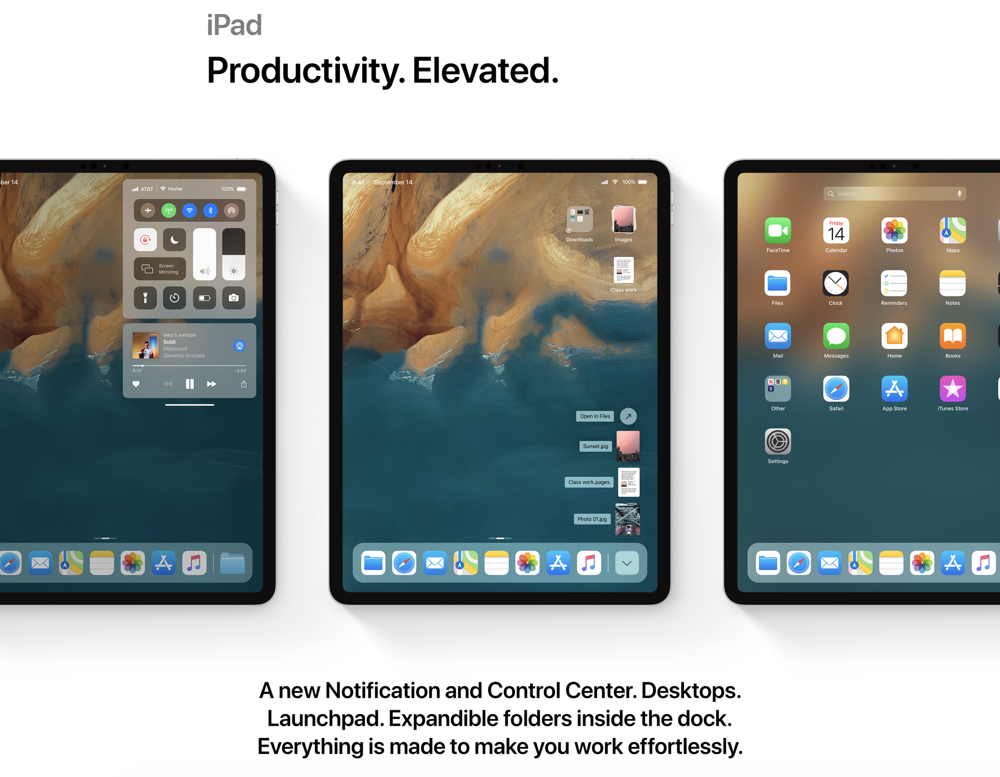 iOS 13 new iPad experience