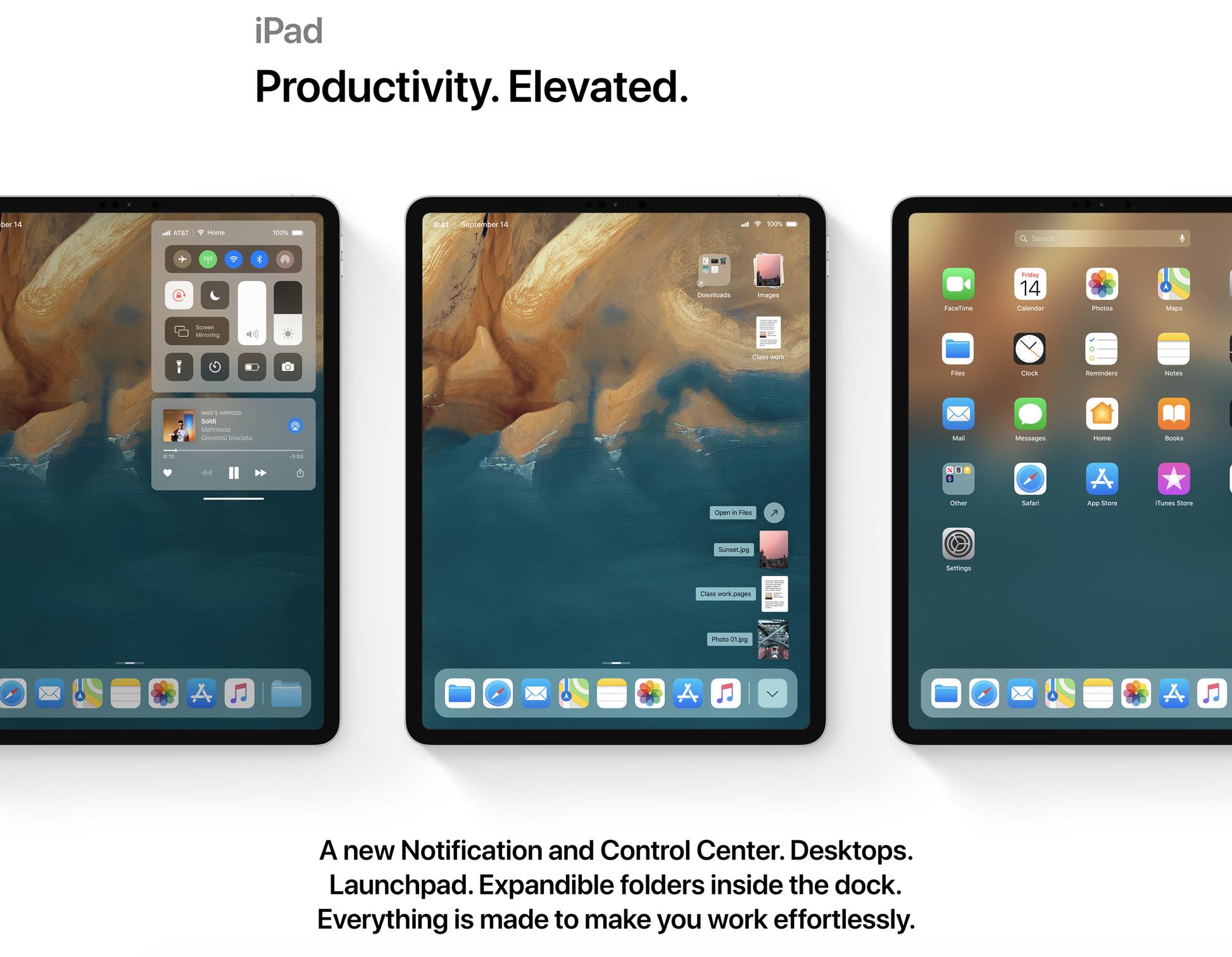 iOS 13 New iPad Experience