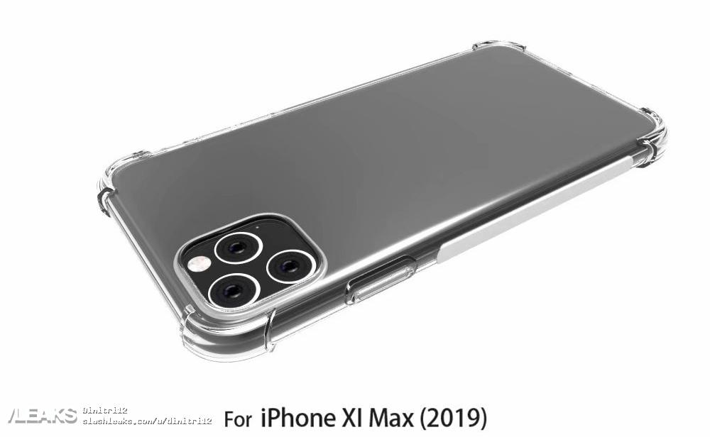 iPhone 11 case renders highlight new large square camera bump design