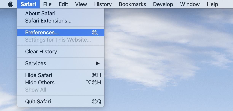 password AutoFill Mac walkthrough 1
