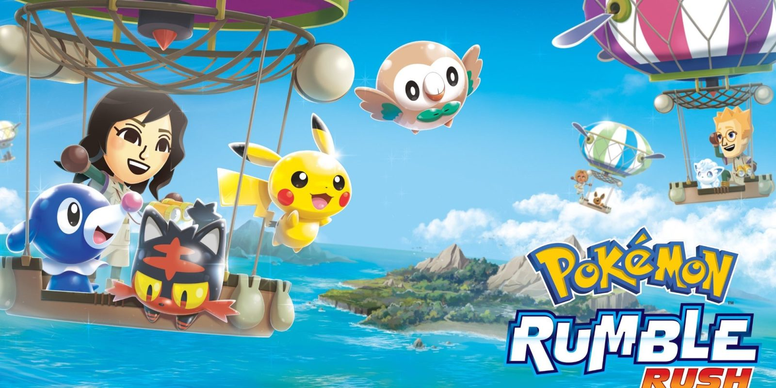 New Pokémon Rumble Rush mobile game is headed to iOS and Android