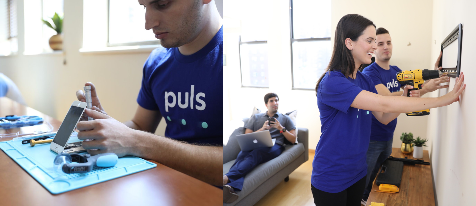 Puls brings technicians to your door for in-home iPhone repairs & more