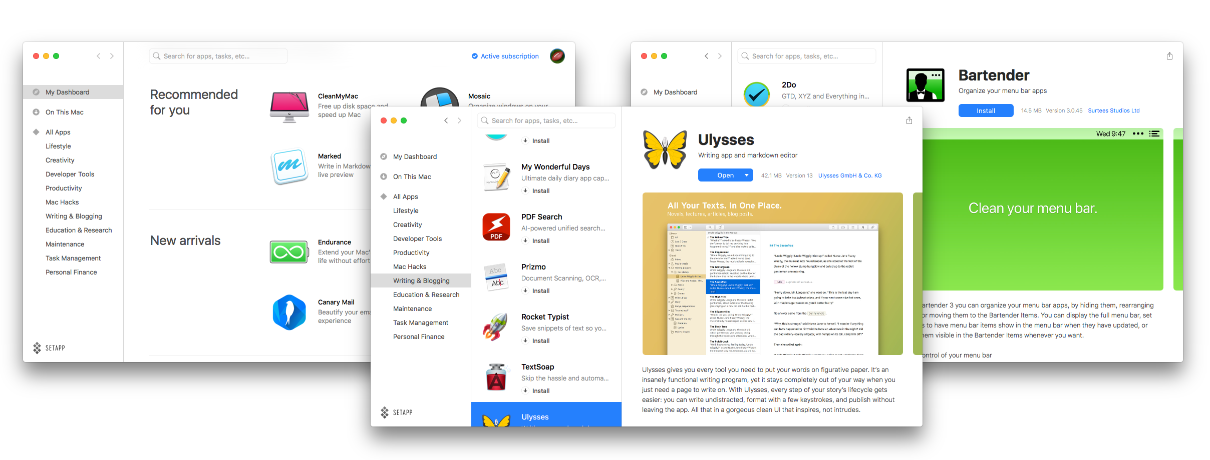 Setapp's subscription for Mac apps now at 20,000 paid users