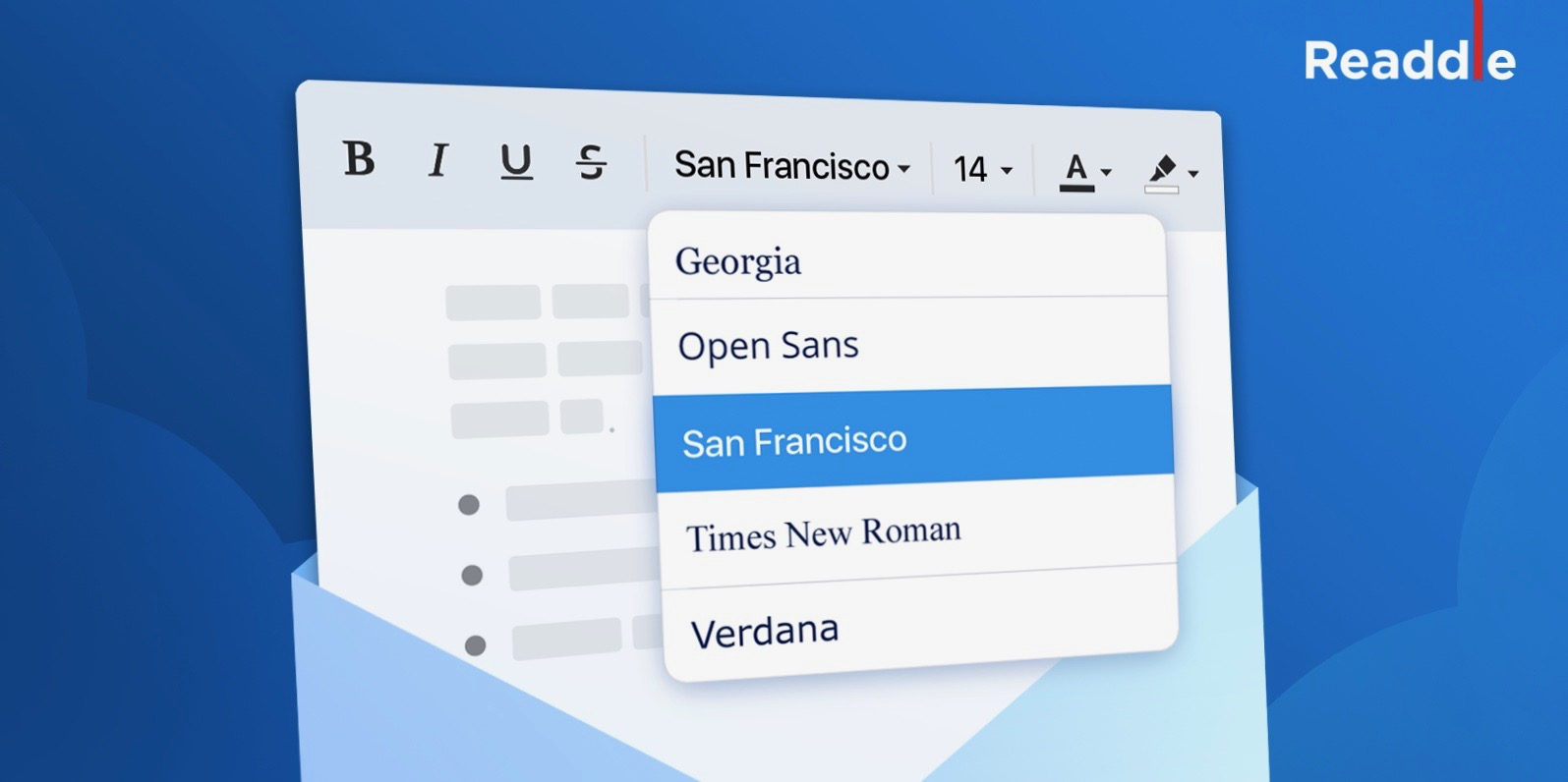 Spark for iOS and Mac getting new font style and size