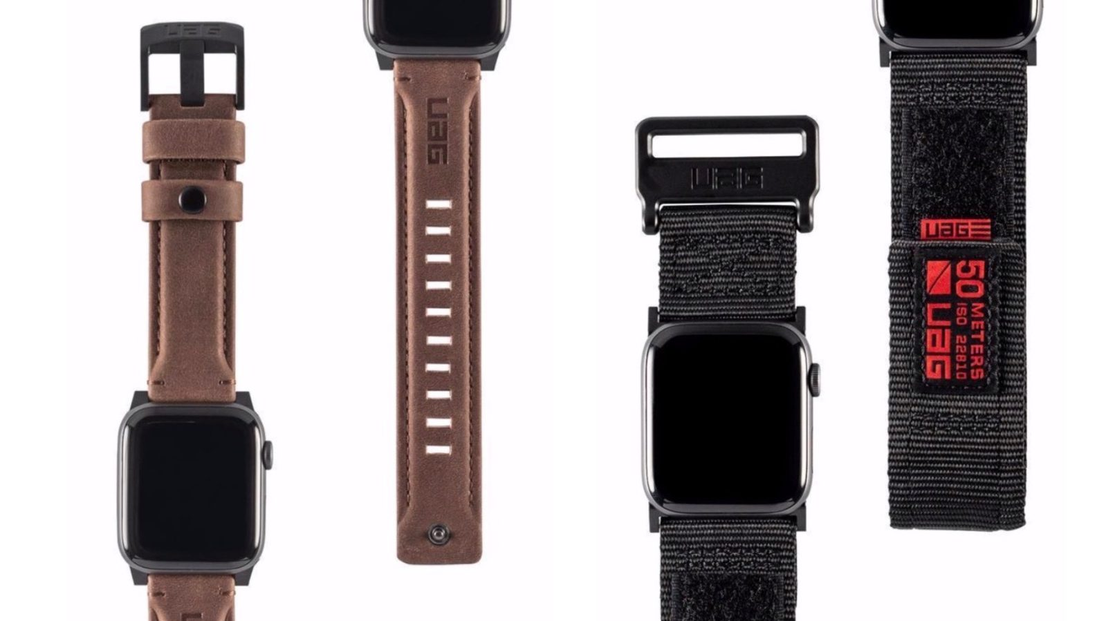 Uag Launches Rugged Leather And Nylon Le Watch Straps