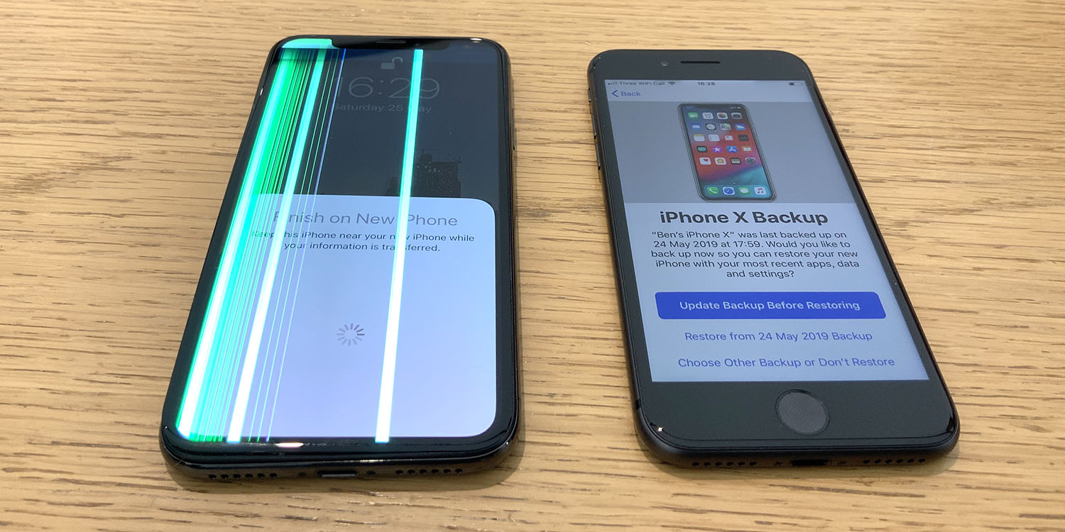 Using an iPhone 8 underlines the benefits of the iPhone X