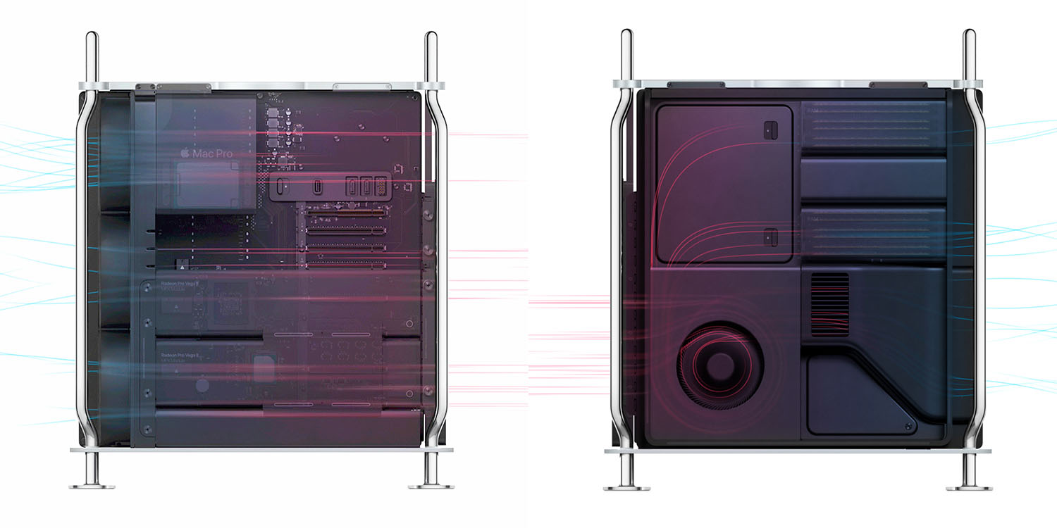 photo of 2019 Mac Pro has clever thermal management and draws on past Mac designs image