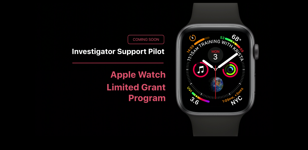 Apple Watch Limited Grant Program for ResearchKit & CareKit launching this fall