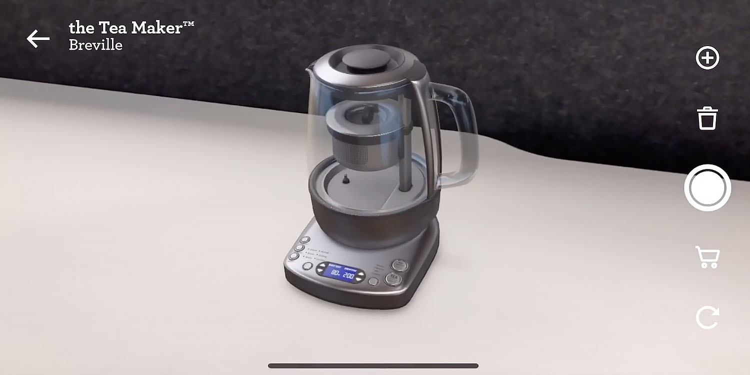 Breville AR app lets you see kitchen appliances on your countertops [Video]