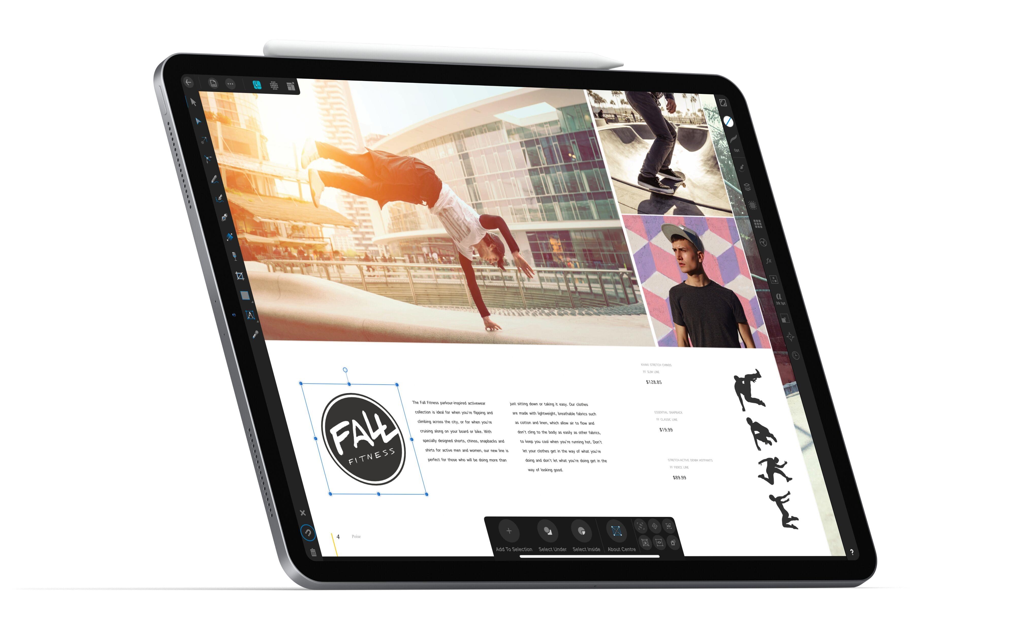 Affinity Publisher support with iPad Affinity Designer